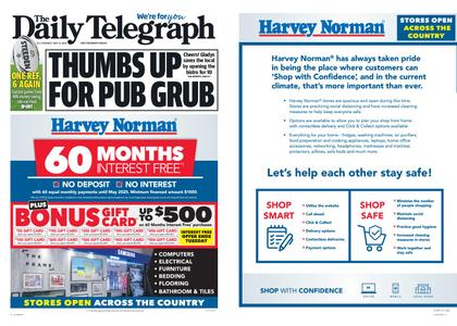 The Daily Telegraph (Sydney) – May 14, 2020