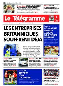 Le Télégramme Brest Abers Iroise – 13 janvier 2021