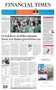 Financial Times Europe - June 5, 2020