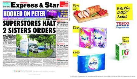 Express and Star Sandwell Edition – September 30, 2017