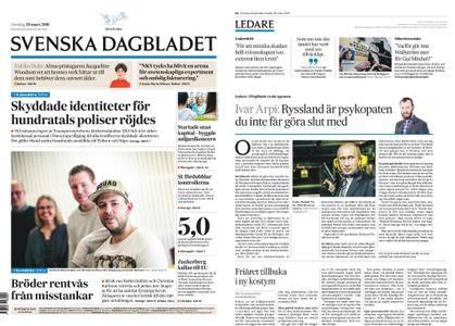 Svenska Dagbladet – 28 mars 2018