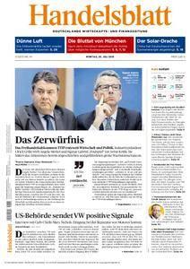 Handelsblatt - 25. Juli 2016