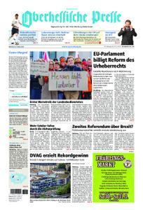 Oberhessische Presse Hinterland - 27. März 2019