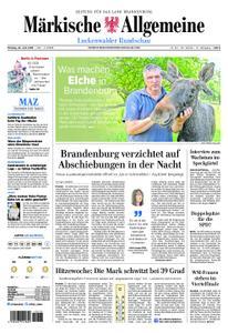 Märkische Allgemeine Luckenwalder Rundschau - 24. Juni 2019