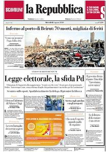 la Repubblica - 5 Agosto 2020