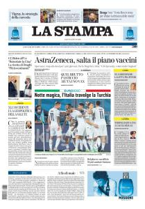 La Stampa - 12 Giugno 2021