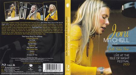 Joni Mitchell - Both Sides Now: Live At The Isle Of Wight Festival 1970 (2018) [Blu-ray, 1080i]
