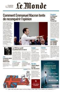 Le Monde du Mardi 22 Janvier 2019