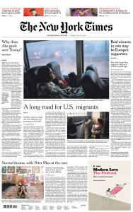 International New York Times - 30 May 2019
