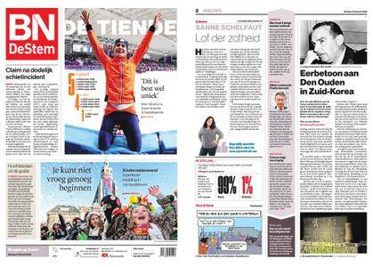BN DeStem - Bergen op Zoom – 13 februari 2018