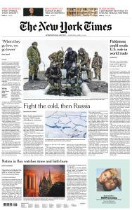 International New York Times - 17 April 2019
