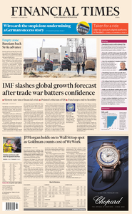Financial Times Europe – 16 October 2019