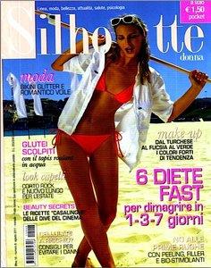 Silhouette Donna - Agosto 2011 - Speciale DIETE fast