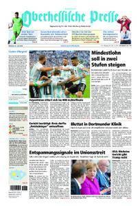 Oberhessische Presse Hinterland - 27. Juni 2018