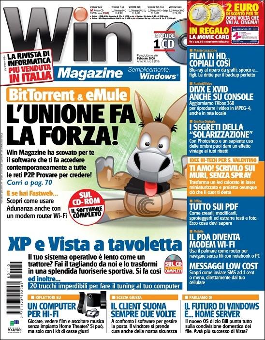 Win Magazine - Febbraio 2008