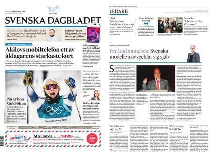 Svenska Dagbladet – 14 februari 2018
