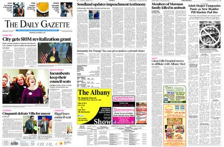 The Daily Gazette – November 06, 2019
