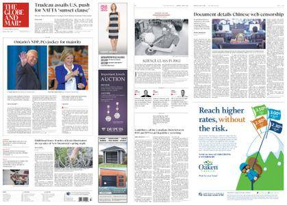 The Globe and Mail – June 04, 2018