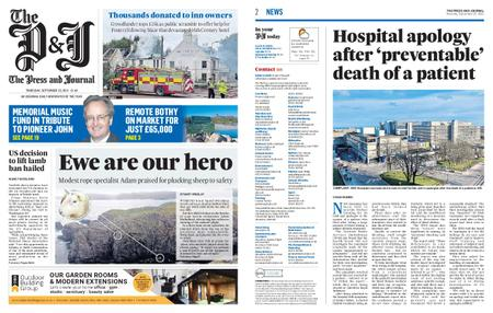 The Press and Journal Moray – September 23, 2021