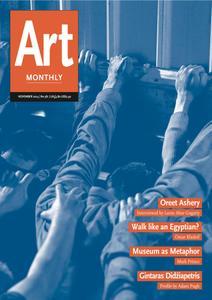 Art Monthly - November 2014   No 381