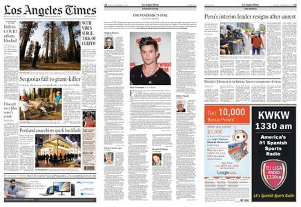 Los Angeles Times – November 16, 2020