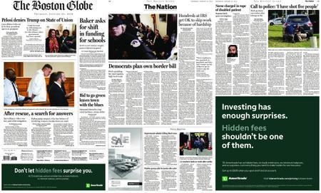 The Boston Globe – January 24, 2019