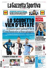 La Gazzetta dello Sport – 15 marzo 2020