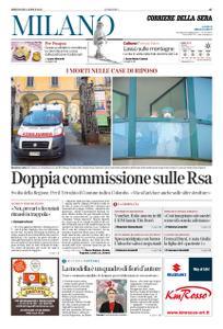 Corriere della Sera Milano – 08 aprile 2020