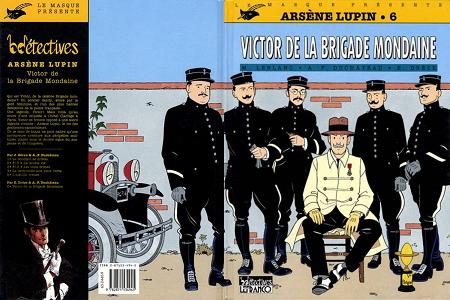 Arsène Lupin - Tome 6 - Victor de la Brigade Mondaine