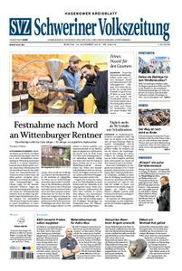 Schweriner Volkszeitung Hagenower Kreisblatt - 19. November 2018