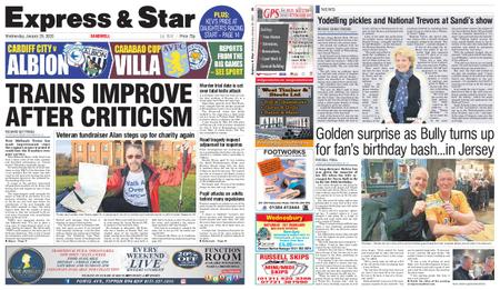 Express and Star Sandwell Edition – January 29, 2020