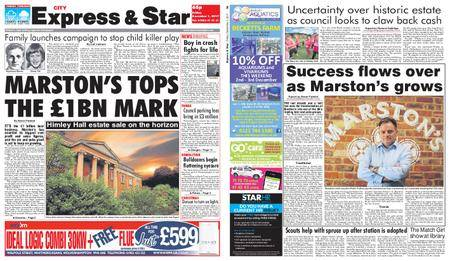 Express and Star City Edition – December 01, 2017