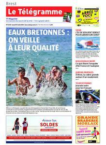 Le Télégramme Brest – 27 juillet 2019
