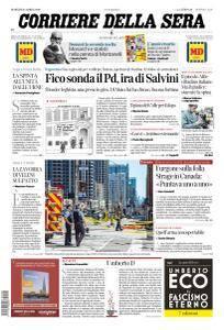 Corriere della Sera - 24 Aprile 2018