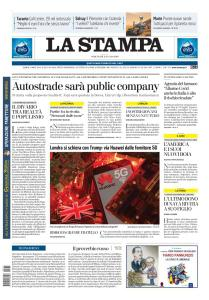 La Stampa Torino Provincia e Canavese - 15 Luglio 2020