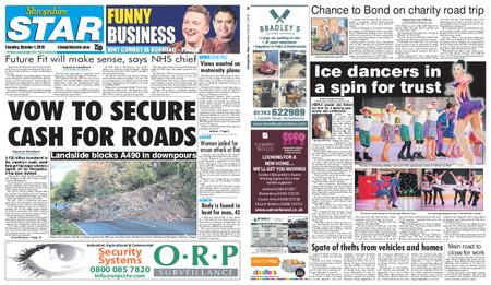 Shropshire Star Shrewsbury Edition – October 01, 2019
