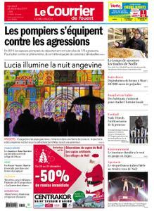 Le Courrier de l'Ouest Nord Anjou – 20 décembre 2019
