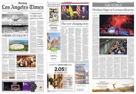 Los Angeles Times – November 10, 2019