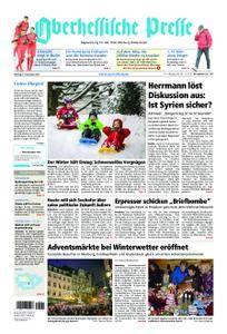 Oberhessische Presse Marburg/Ostkreis - 04. Dezember 2017