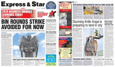 Express and Star Sandwell Edition – January 07, 2020