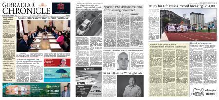 Gibraltar Chronicle – 22 October 2019