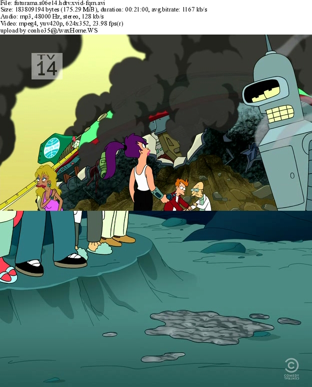 Futurama S06E14 - E15