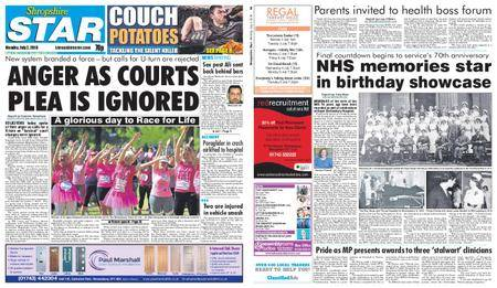 Shropshire Star Shrewsbury Edition – July 02, 2018