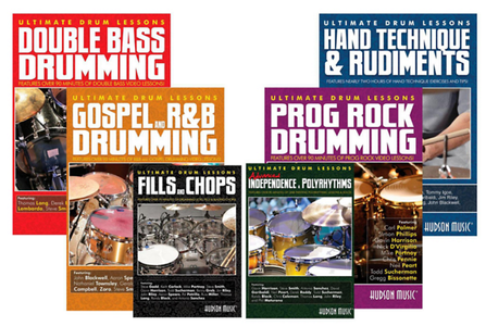 Hudson Music - Ultimate Drum Lessons DVD Value Pack
