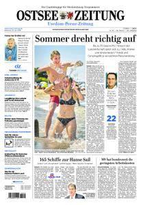 Ostsee Zeitung Wolgast - 25. Juli 2018
