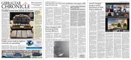 Gibraltar Chronicle – 29 January 2021