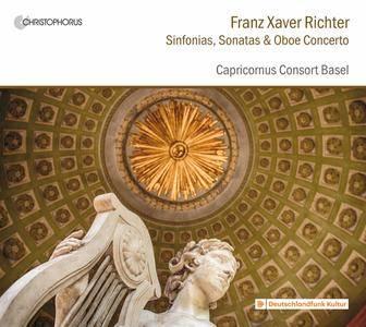 Capricornus Consort Basel, Péter Barczi & Xenia Löffler - Richter: Sinfonias, Sonatas & Oboe Concerto (2017)