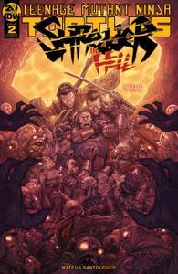 Teenage Mutant Ninja Turtles-Shredder in Hell 002 2019 digital