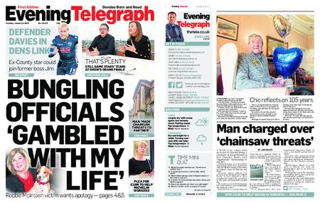 Evening Telegraph First Edition – January 08, 2019