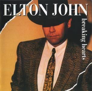 Elton John - Breaking Hearts (1984) [Rocket 077 111-2, Germany]